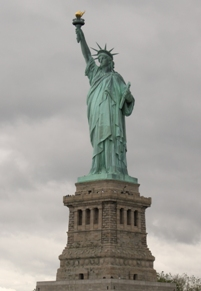 Lady of New York - the Statue of Liberty