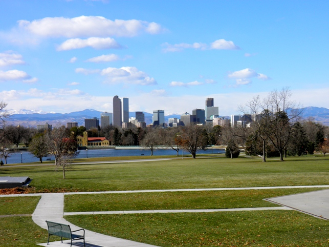 Green space just outside Denver