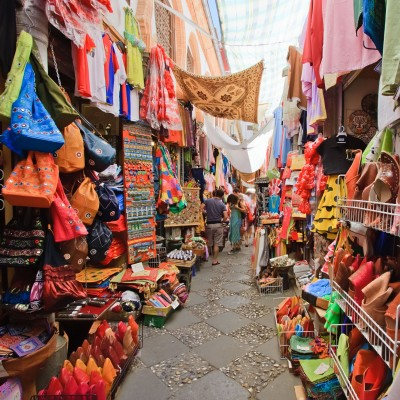 Colourful market in Granada