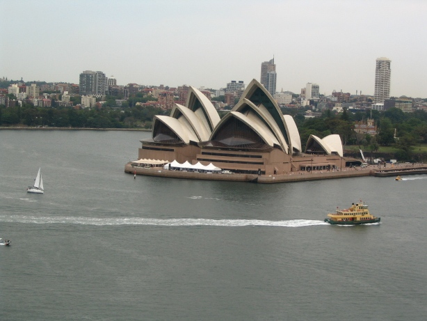 Iconic Sydney harbour and opera