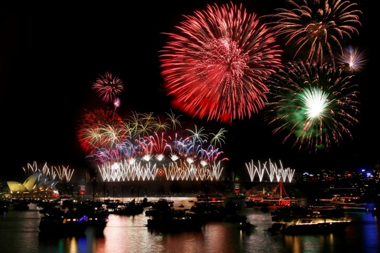 New Year Celebrations, Sydney Bridge, Sydney