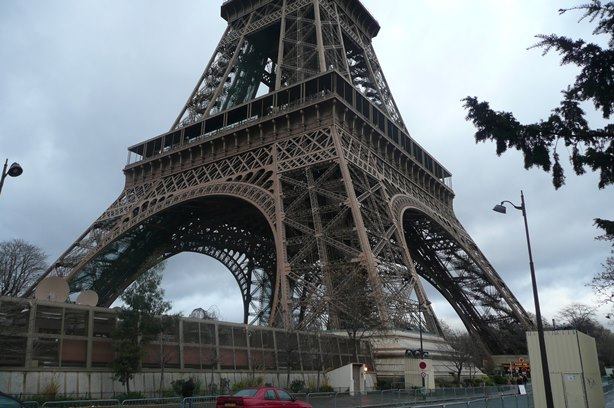Base of the Eiffel Tower