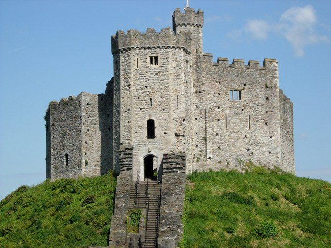 Cardiff Castle, full of history, for hire