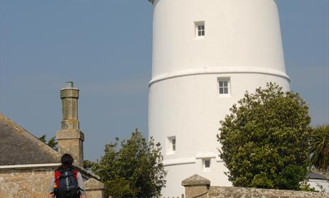 Three Beacons in the Sea: The Lighthouses of Scilly